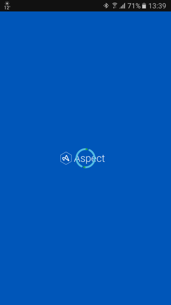Aspect Loading Screen